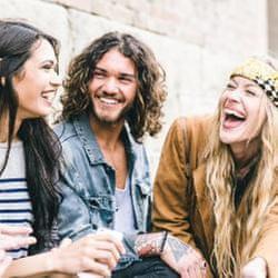 當他們的朋友真的很幸福!